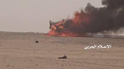 مصدرعسكري..تدميرآلية وإعطاب رشاش بنجران وعسير