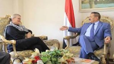وزيرالخارجية يناقش مع غراندي أنشطة مكاتب ومنظمات الأمم المتحدة