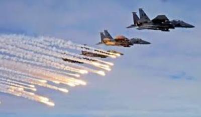 طيران العدوان يشن غارات على صعدة ومأرب وعسير